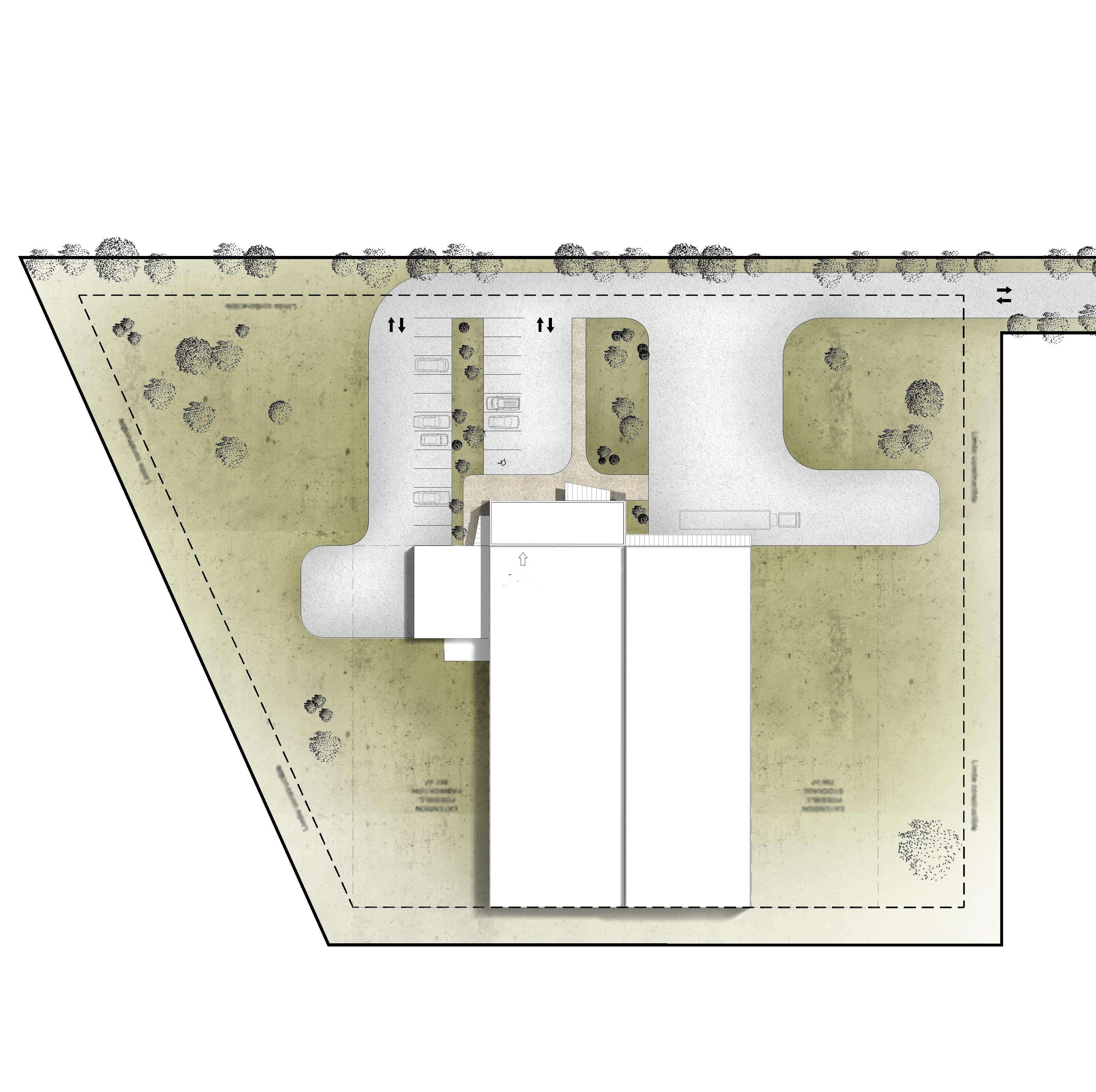 SCAL plan de masse paysager exemple